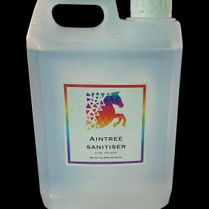 Aintree sanitiser liquid 2.5ltr
