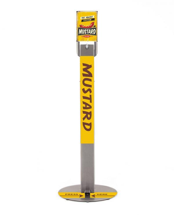 ezeesan squirt station mustard