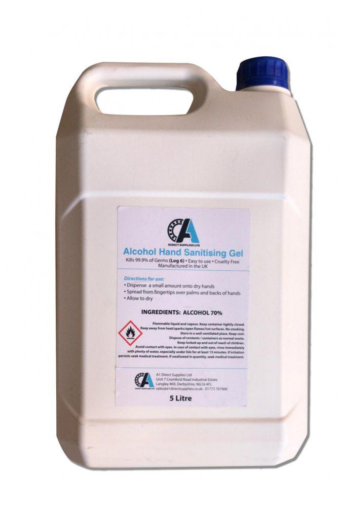 Sanitiser Gel 5 litres